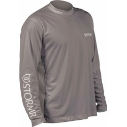 Stormr RW215M-02 Men's UV Shield Long Sleeve Shirt Smoke XX-Large found on Bargain Bro Philippines from Tackle Direct for $34.95
