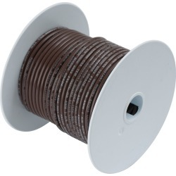 Ancor 14 AWG Tinned Copper Wire Primary Cable - Brown - 15 ft. found on Bargain Bro from Tackle Direct for USD $5.31