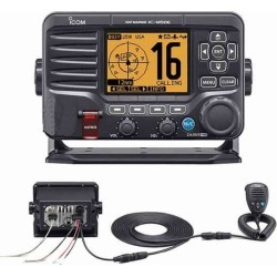 Icom M506 VHF Fixed Mount w/Rear Mic, AIS & NMEA 0183/2000