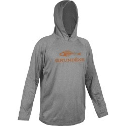 Grundens Deck Hand Hoodie - Monument Grey 3XL found on Bargain Bro India from Tackle Direct for $59.99