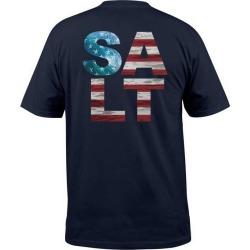 Salt Life American Salt Mens S/S Tee - Navy - Medium