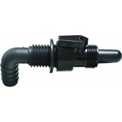 T-H Marine Aerator Spray Head with Valve - 90 Degree - Black found on Bargain Bro India from Tackle Direct for $11.95
