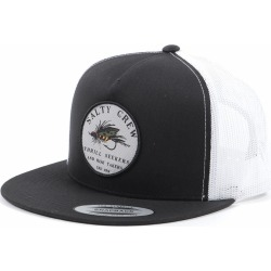 Salty Crew Henshall Trucker Hat - Black/White found on Bargain Bro India from Tackle Direct for $25.95