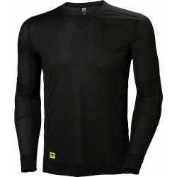 Helly Hansen Lifa Long Sleeve Crewneck Shirt - Black - L found on MODAPINS from Tackle Direct for USD $40.00
