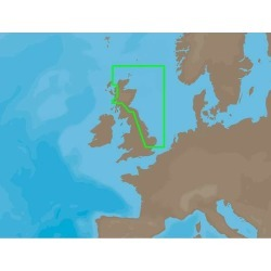 C-MAP NT+ EW-C214 - Harwich-Orkney Islands - C-Card