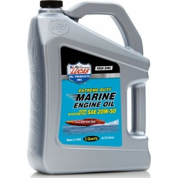 Lucas Oil Ext. Duty Marine Engine Oil Semi-Synthetic SAE 20W50 - 5 qt.