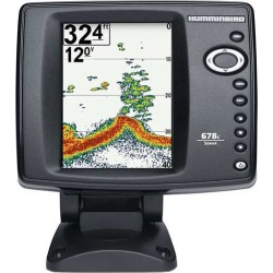Humminbird 678c HD Fishfinder w/ DualBeam Transom Mount Transducer