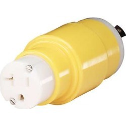 Marinco One Piece Adapter 30A 125V Female to 20A 125V Male - S20-30 found on Bargain Bro Philippines from Tackle Direct for $79.99