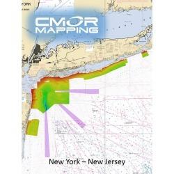 CMOR Mapping NY & NJ Mapping f/ Simrad, Lowrance, B & G & Mercury