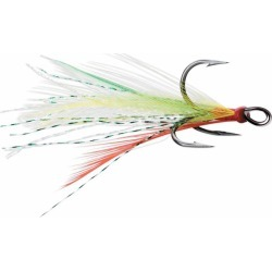 VMC Dressed X-Rap Treble Hook - Fire Tiger - #4 found on Bargain Bro India from Tackle Direct for $3.59