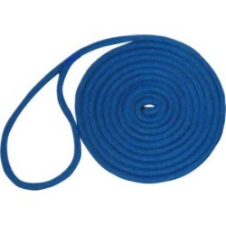 Unicord Double Braid Nylon Dock Line - 3/8 in. x 20 ft. - Blue found on Bargain Bro India from Tackle Direct for $12.99