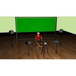 Green Screen Video: Budget Studio Setup And Chroma Key Edits found on Bargain Bro UK from Udemy