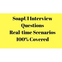 SoapUI realtime interview questions