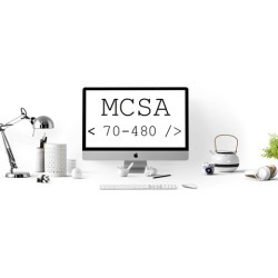 MCSA 70-480 - 4 Real Simulation Practice Tests