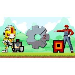 Construct 2 - 3 Jogos de Plataforma (Puzzle, Aventura e Luta)