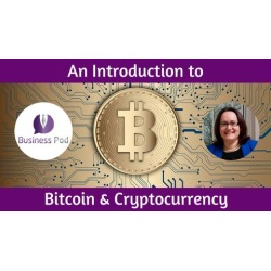 An Introduction to the World of Cryptocurrency & Bitcoin found on Bargain Bro UK from Udemy