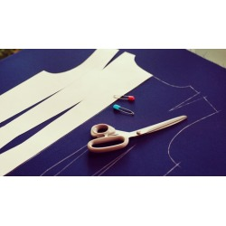 How to Make 6 Piece Dress without Patterns - Freehand Sewing