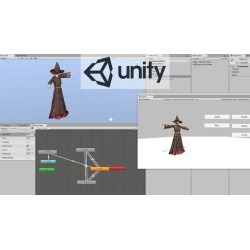 Animated 3d character for Unity in 1 hour.