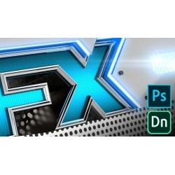 Photoshop & Dimension: 3D Design Effects