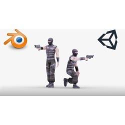 Blender 2.79- Character creation for unity for beginners