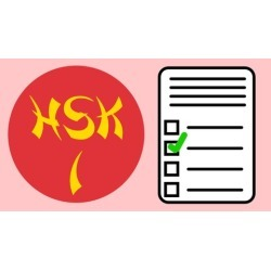 Chinese HSK practice tests for level 1