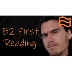 FCE Reading B2 First Certificate Cambridge English Exam found on Bargain Bro UK from Udemy