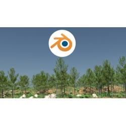 Learn 3D - Plant and Landscape Creation inside Blender 3D