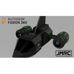 Fusion 360 Design Concept: Spacecraft