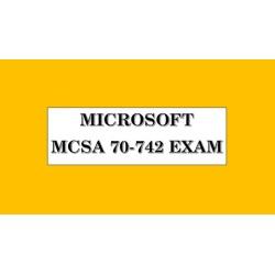 70-742 Exam Identity with Windows Server 2016 (MCSA) : Tests