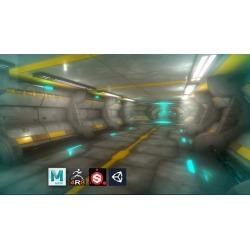 Escenario Sci-Fi Modular para Game o Realidad Virtual