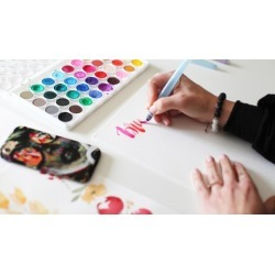 Watercolor Brush Lettering for Beginners found on Bargain Bro India from Udemy for $19.99