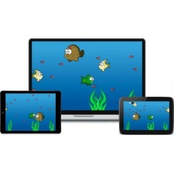 Create a Feeding Fish Frenzy Game in Construct 2