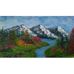 Learn To Make An Amazing Landscape through oil painting