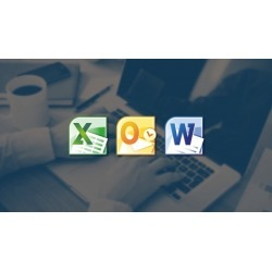 Ready to work in Microsoft Excel, Word, and Outlook