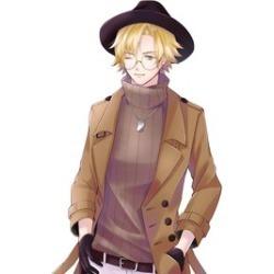 Manga Drawing / Digital Illustration standing cool guy