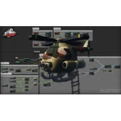 Create a Helicopter Game Control System in Unreal Engine 4