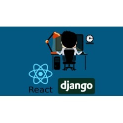 React & Django Full Stack: web app, backend API, mobile apps