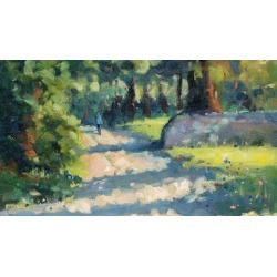How to Add Light to Your Landscape Painting