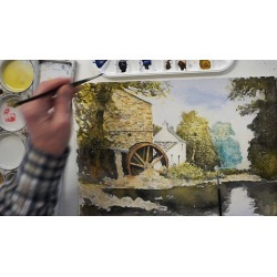 Paint a Traditional English Watercolour in Easy Steps