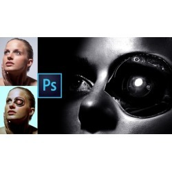 Adobe Photoshop Course: Creating a Cyborg Retouching Course found on Bargain Bro UK from Udemy