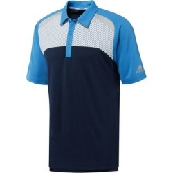 Adidas Men's Blocked Merch Short Sleeve Polo - Navy/Blue S found on Bargain Bro India from golftown.com for $53.33