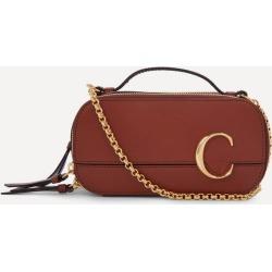 Chloe C Mini Leather Vanity Bag