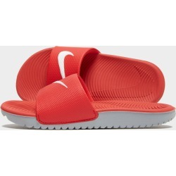 Nike Kawa Slides Children - Only at JD Australia - Red/Grey - Kids