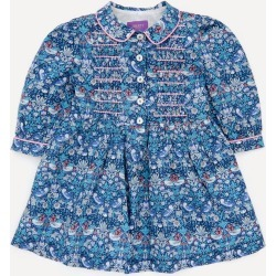 Strawberry Thief Long Sleeved Shirt Dress 2-10 Years found on Bargain Bro UK from Liberty.co.uk