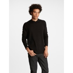 John Varvatos Silk-Cashmere Hoodie found on MODAPINS from john varvatos dynamic for USD $398.00