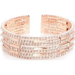 Quiz Rose Diamante Cuff Bracelet found on Bargain Bro UK from Quiz Clothing