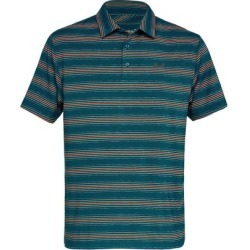 Under Armour Men's Playoff Short Sleeve Polo - DKTEAL/Orange S found on Bargain Bro India from golftown.com for $55.65
