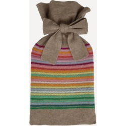 Rainbow Stripe Hot Water Bottle found on Bargain Bro UK from Liberty.co.uk