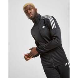 adidas Badge of Sports Poly Funnel Track Top - Black/White - Mens