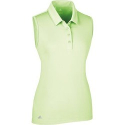 Adidas Women's Ultimate Sleeveless Polo  - YLW L found on Bargain Bro India from golftown.com for $45.71